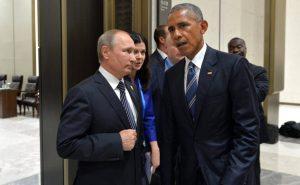 05/09/2016- Hangzhou, China- Vladimir Putin se reuniu com o presidente dos Estados Unidos da América, Barack Obama, à margem da Cimeira do G20. Os dois líderes discutiram a situação na Síria e na Ucrânia. Foto: The Presidential Press and Information Office