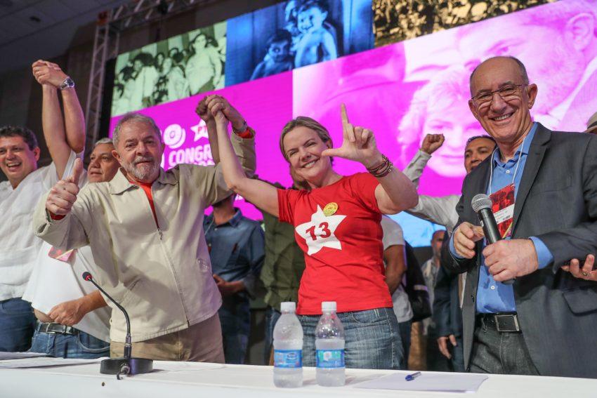 03/06/2017- Brasília- DF, Brasil- Encerramento do 6º Congresso Nacional do PT Maria Letícia Lula da Silva 2017 Fotos Ricardo Stuckert