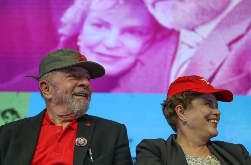 1º/6/2017- Brasília- DF, Brasil- Abertura do 6º Congresso do Partido dos Trabalhadores em Brasília, com a presença do ex-presidente Lula, Rui Falcão e Dilma Rousseff. Foto: Ricardo Stuckert