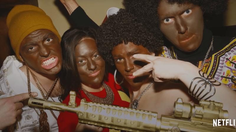 Episódio da série Cara Gente Branca, na Netflix | Foto: Reprodução