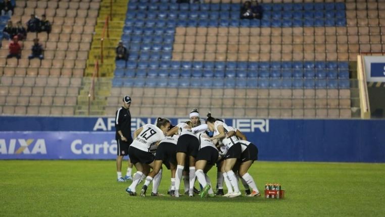 Equipe do Corinthians. Foto: Bruno Teixeira