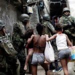 Fora intervenção militar; o Rio precisa de uma grande intervenção social