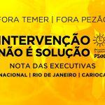 """MAIS, NOS e M-LPS: Nota sobre o Manifesto """" Unidade para reconstruir o Brasil """""""