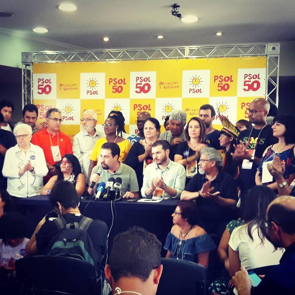 Coletiva de imprensa anuncia resultado da Conferência Eleitoral do PSOL
