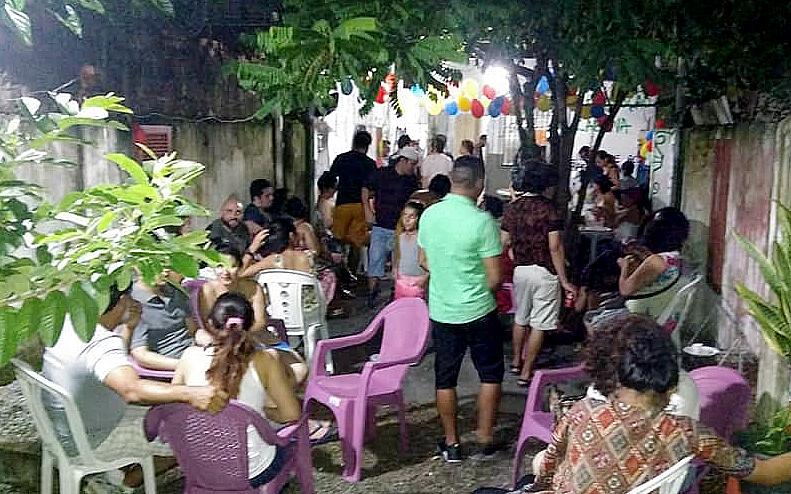 Noche venezuelana, na sede do MAIS