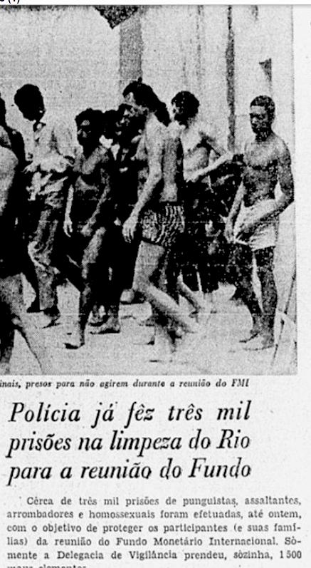 Reprodução Jornal do Brasil. 21/07/1967