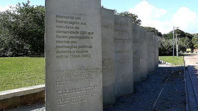 Homenagem aos mortos e desaparecidos da USP