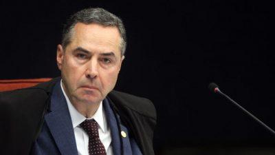 Ministro Barroso. Crédito: Rosinei Coutinho. SCO/STF