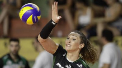 Tiffany Abreu, jogadora de volei do Bauru