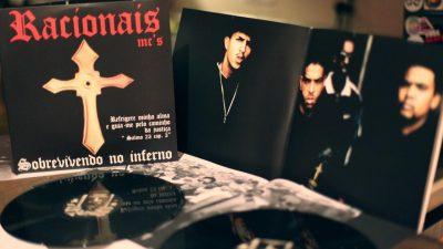 Capa do álbum Sobrevivendo no Inferrno. Foto Divulgação