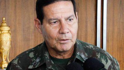 General Antônio Hamilton Martins Mourão. Foto: Pedro Ribas/ANPr/Divulgação