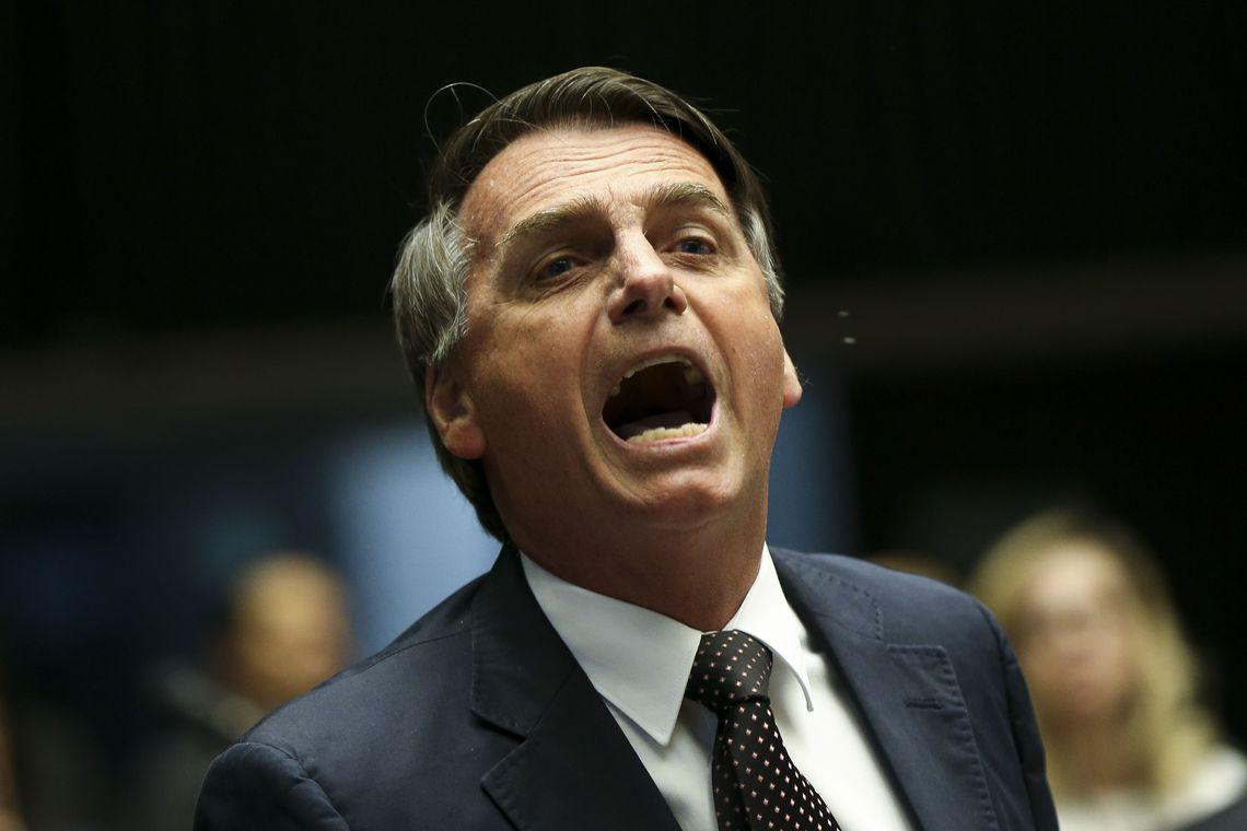 O deputado Jair Bolsonaro, pré-candidato à Presidencia . (Foto: Marcelo Camargo/Agência Brasil)