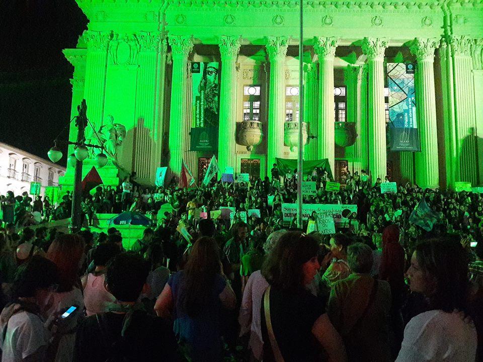 Manifestação no Rio de Janeiro. Foto Renata Vereza