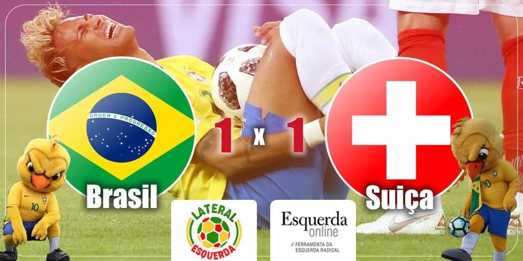 615f5697d3 Brasil frustra expectativas e não sai do empate contra Suíça