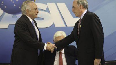 Michel Temer e Pedro Parente. Acervo Ag. Brasil