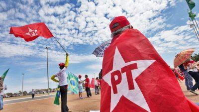 Manifestantes em Brasília. Foto Lula Marques / Agencia PT
