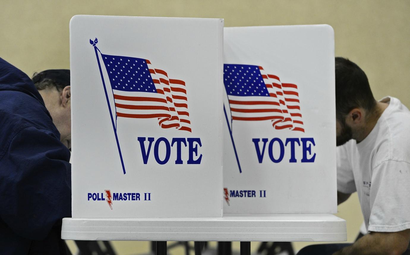 Votação nos Estados Unidos. Foto: Larry W. Smith / Lusa / Agencia Brasil