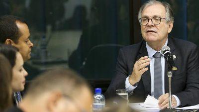 Senador Dalírio Beber (PSDB-SC), relator da proposta de Lei de Diretrizes Orçamentárias (LDO). Foto Marcelo Camargo/Agencia Brasil