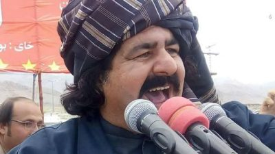 principais líderes do PTM (Movimento de Proteção Pashtun), Ali Wazir