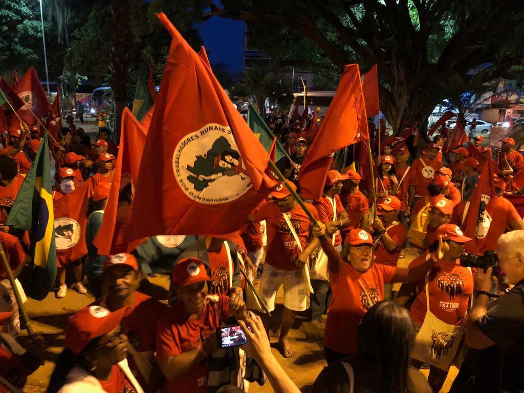Marcha Lula Livre, do MST e Via Campesina. Fotos: Lula Marques/PT na Câmara