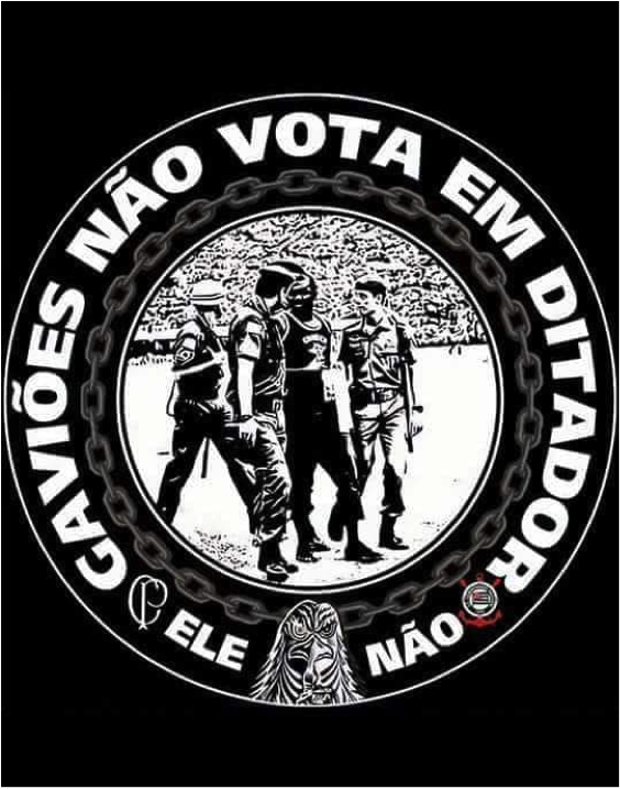 4471db3625 Torcidas se mobilizam contra Bolsonaro