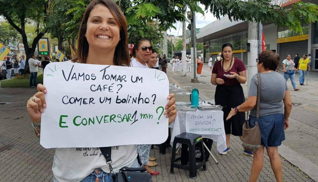 Café com conversa em Niterói, RJ