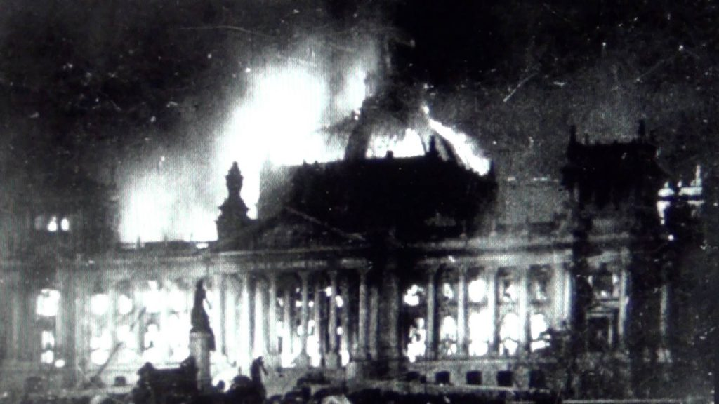 Reichstag em chamas