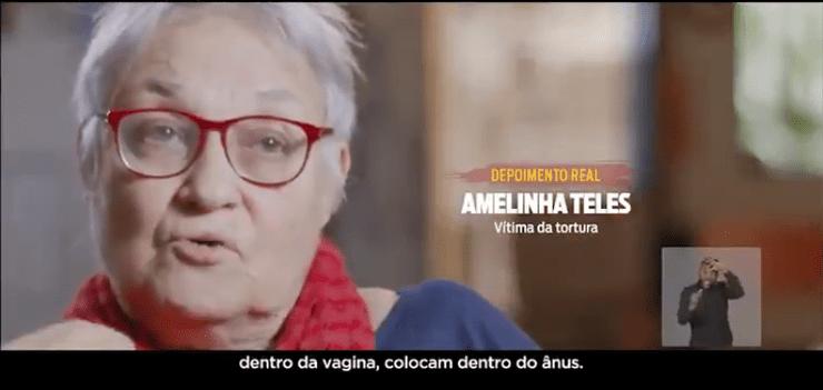 Amelinha Teles, vítima de tortura