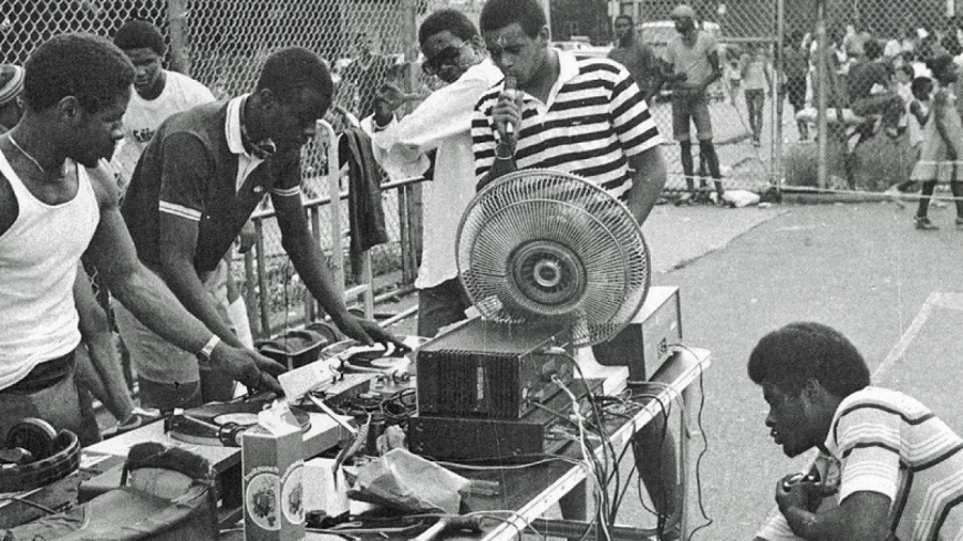 Arquivo. Pickup do DJ Kool Herc