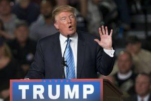 Donald Trump, durante a campanha