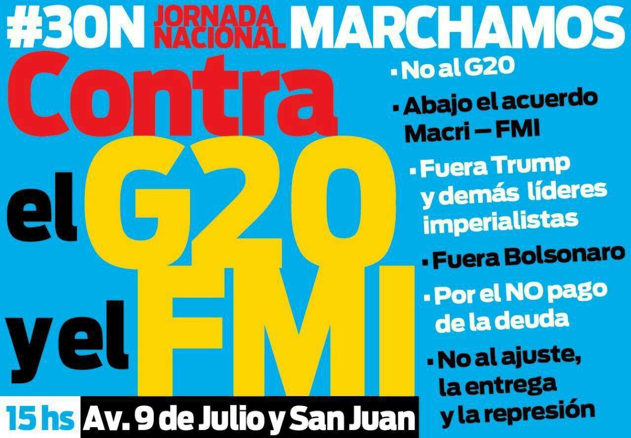 cartaz marcha