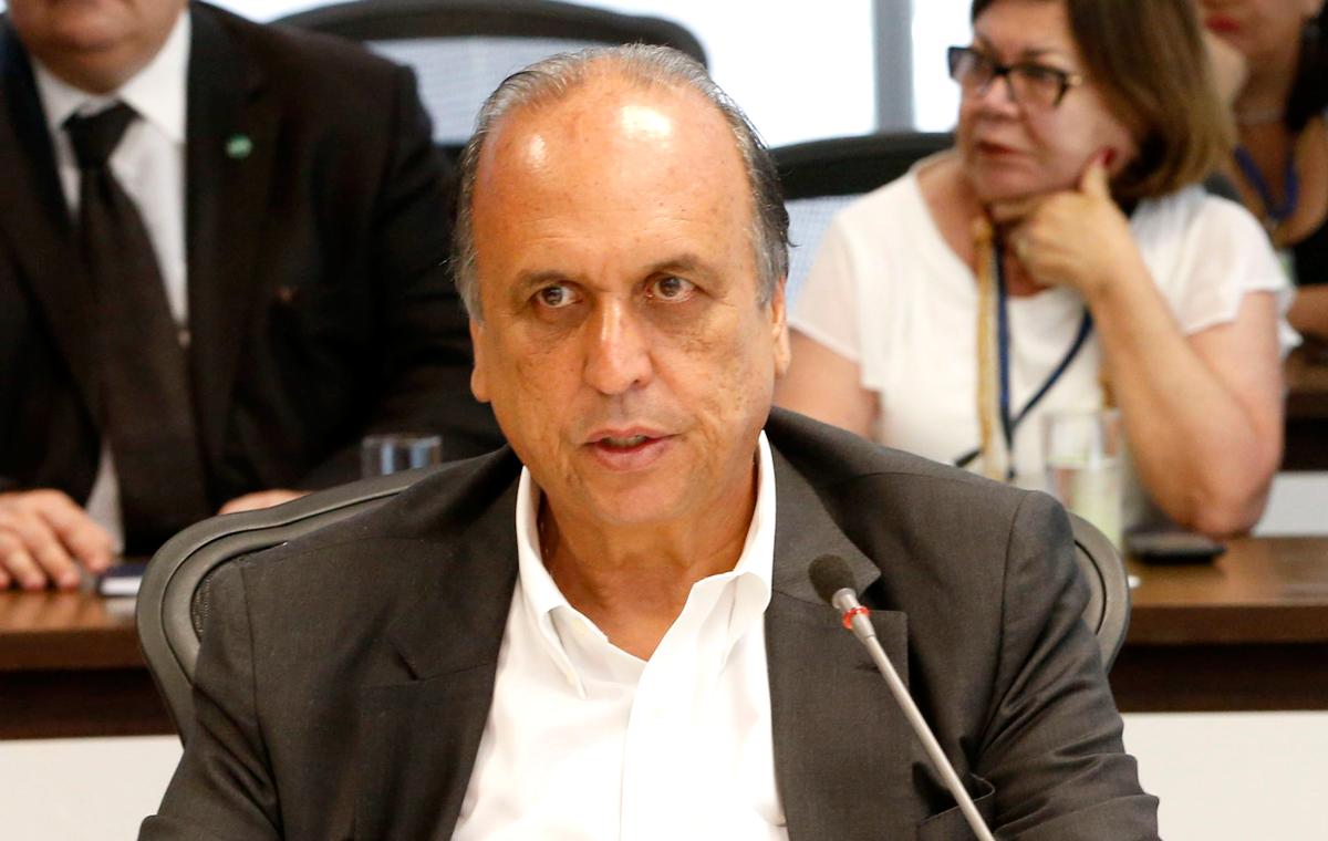 Pezão, governador do Rio de Janeiro