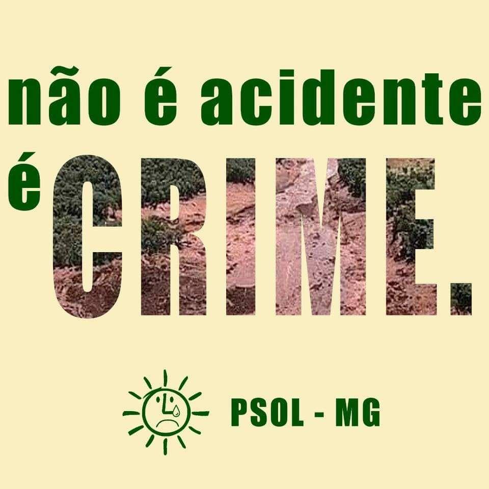 Não é acidente. É crime.