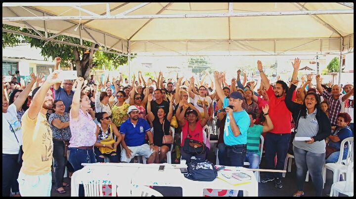 Greve da educação em Macapá, em 2018