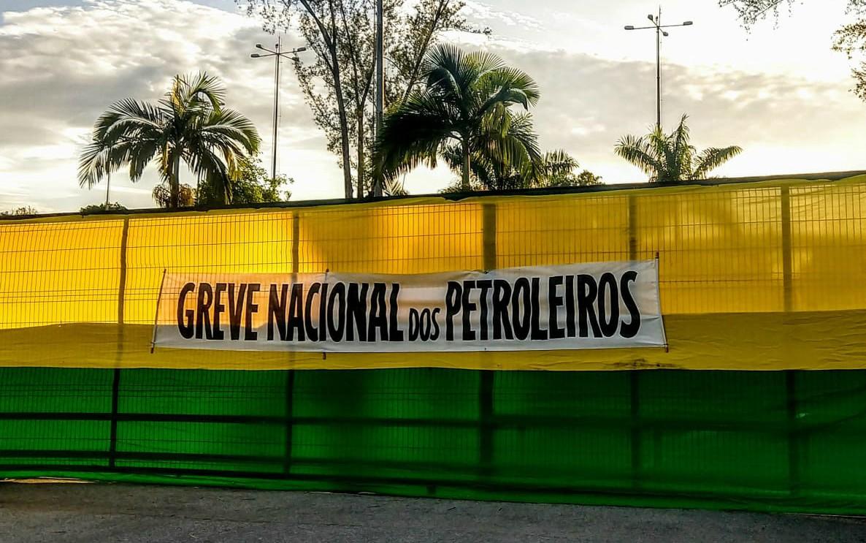 GREVE DOS PETROLEIROS CHEGA A 50 UNIDADES DA PETROBRAS