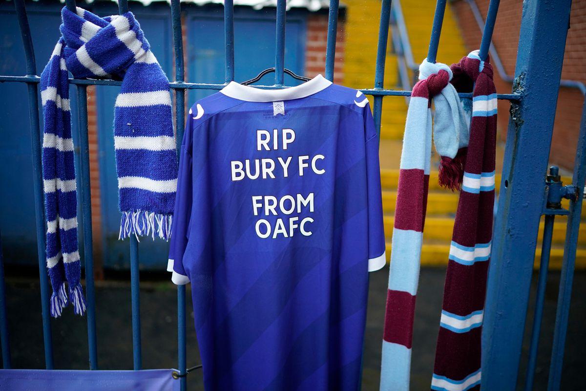RIP BURY FC. FROM OAFC