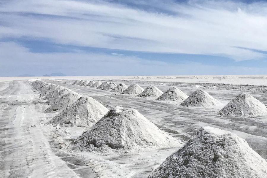 Deserto de Sal na Bolívia