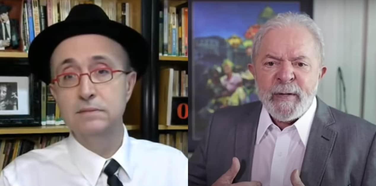 Reinaldo Azevedo e Lula